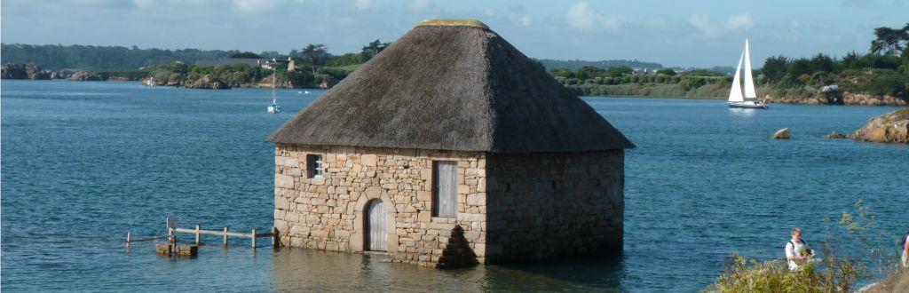 Brehat maison marée